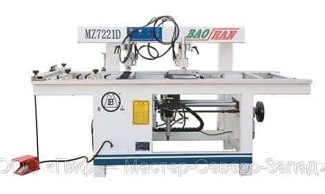 Полуавтоматический сверлильно-присадочный станок MZ-7221D