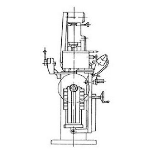 Специальный полуавтомат для заточки круглых пил СТчПК