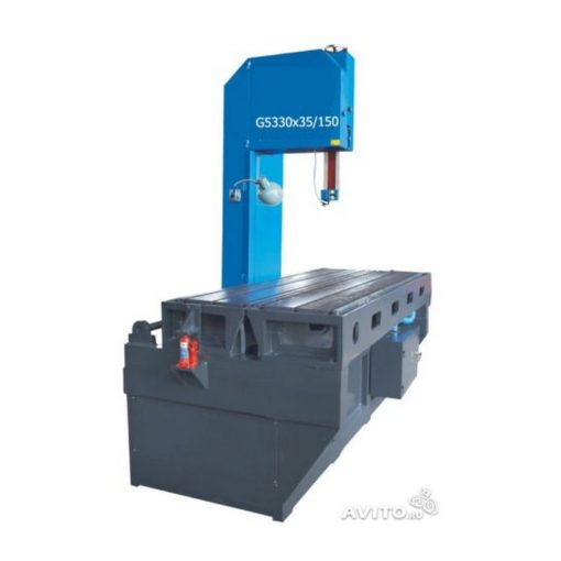 Вертикальный ленточнопильный станок G5330x35/100