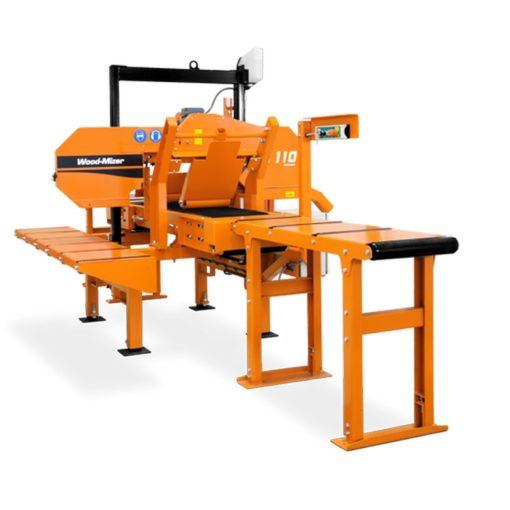 Ленточная делительная пилорама Wood-Mizer HR110