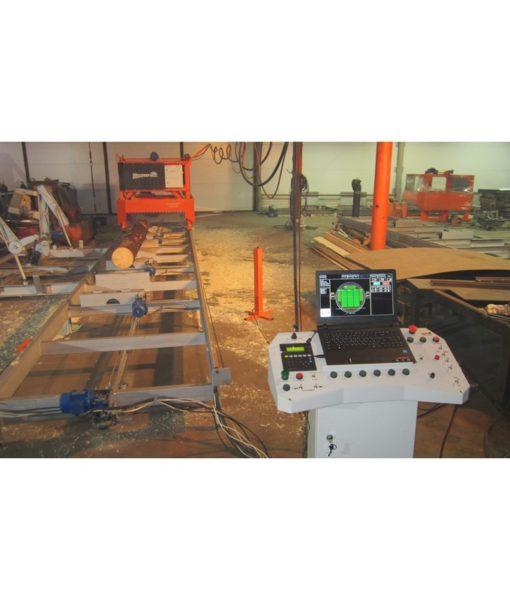 Угловая двухдисковая пилорама УГДП2-600