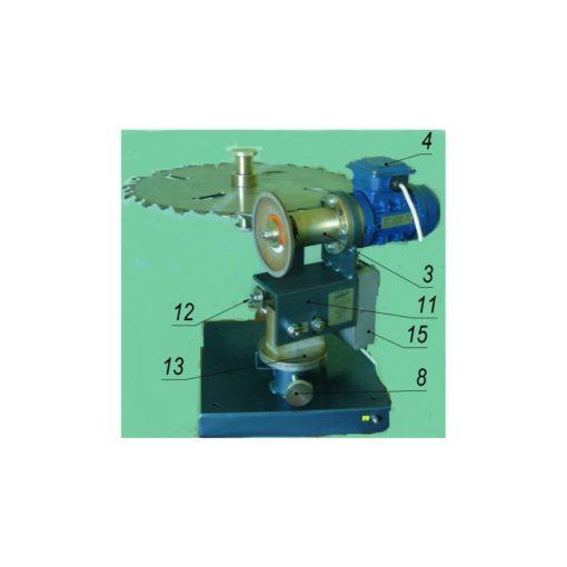 Станок СЗДП-02 для заточки  дисковых пил 1