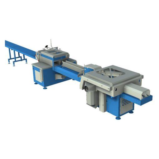 Комплекс по переработке горбыля WDPP-410